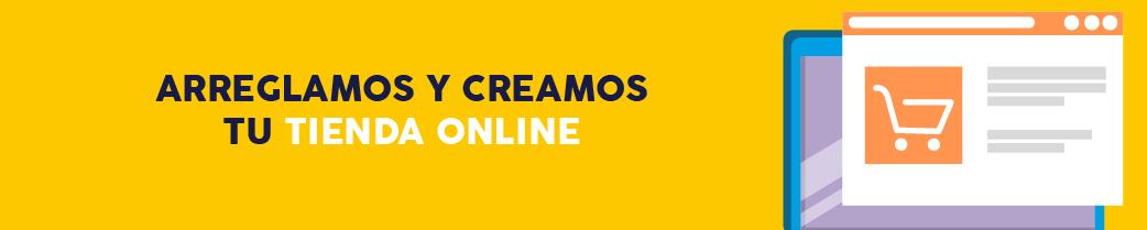 arreglamos y creamos tu tienda online